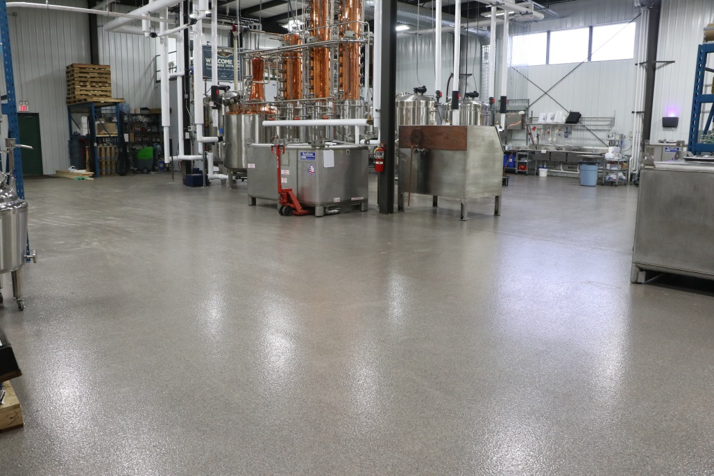 Epoxy Flooring in a Distillery Production Space | Floorguard.com